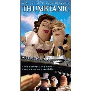 Thumbtanic [VHS] Steve Oedekerk, Mary Jo Keenen, Paul
