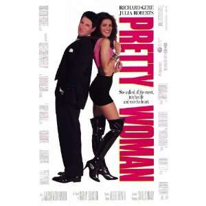 Pretty Woman Julia Roberts & Richard Gere 12989 Original Folded Movie
