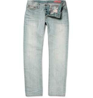 Clothing  Jeans  Slim jeans  Faded Denim Slim Fit Jeans