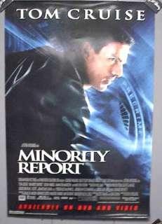 Movie Poster MINORITY REPORT Tom Cruise