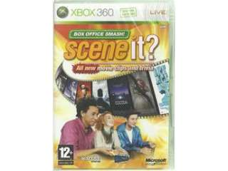 SCENE IT ? MOVIE CLIPS AND TRIVIA (INPLASTAT XBOX 360 SPEL) på