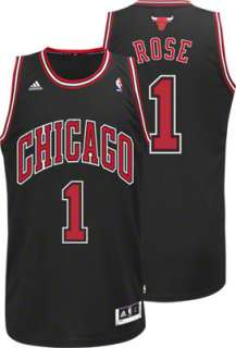 Rose Black adidas Revolution 30 Swingman Chicago Bulls Youth Jersey