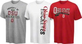 Ohio State Buckeyes Cube T Shirt 3 Pack
