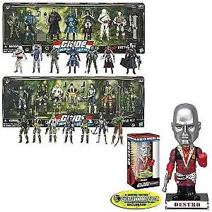 Joe Resolute Exclusive Action Figures and Bobble Head Set