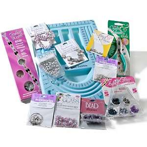 Cousin Corp Lavender Mist Jewelry Making Crafts Kit