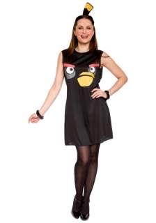 Costumes Angry Birds Costumes Angry Birds Adult Black Bird Tank Dress