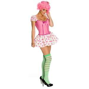 Strawberry Shortcake   Raspberry Tart Adult Costume, 801304