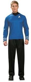 Adult Star Trek Blue Shirt Costume   Spock Star Trek Costumes