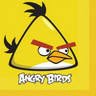 Angry Birds Lunch Napkins (16 count)   Costumes, 81743