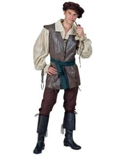 Mens Medieval Peasant Costume  Wholesale Renaissance Halloween