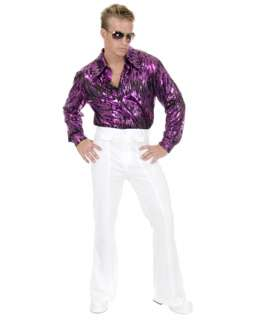 White Disco Pants  Wholesale 70s Halloween Costume for Men
