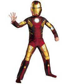 for Kids  The Avengers Official Iron Man Mark VII 7 Classic Costume