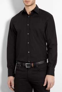 Black Classic Fit Shirt by Paul Smith London   Black   Buy Shirts