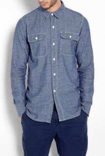 Carhartt  Blue Chambray No 1 Work Shirt by A.P.C. X Carhartt