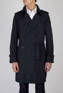 Aquascutum  Navy Light Nylon Aqua Mac Trench Coat by Aquascutum