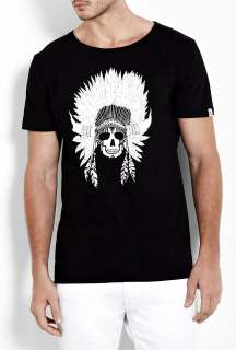 Question Of  Black Chief O Neck T Shirt by A Question of