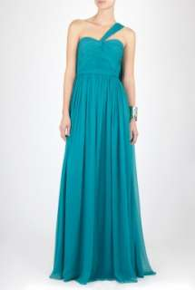 by Marchesa  Full Length Draped Bodice Dress by Notte by Marchesa
