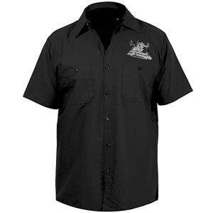 Speed and Strength Raging Bull Garage Shirt   Large/Black Automotive