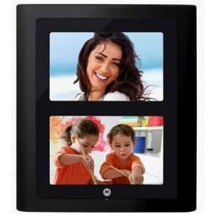 Motorola 7 Dual Digital Photo Frames with Slideshow Camera & Photo