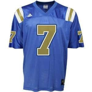 adidas UCLA Bruins #7 True Blue Replica Football Jersey