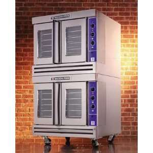 Bakers Pride C011 G2 Full Size Double Deck Gas Convection