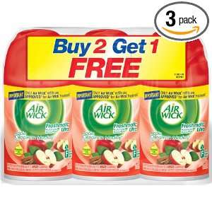 AIR WICK Freshmatic Ultra Refill, Apple Cinnamon Medely, 18.5 Ounce