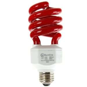 Sunlite SL24/R 24 Watt Spiral Energy Saving CFL Light Bulb Medium Base