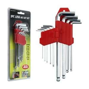 Trademark Tools 9 piece Allen Wrench Hex Set Ball Head