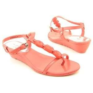 ANNE KLEIN AK Adonia Orange Sandals Shoes Womens 10