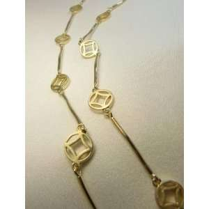 Necklace  18k Gold Plated on 925 Sterling Silver