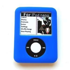 Apple iPod Nano 3 (3rd Generation) Two Tone Soft Rubber