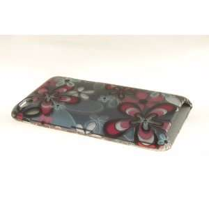 Apple iPod Touch 4 Hard Case Cover for Flower StyII