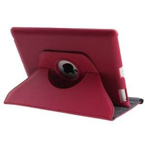 360° Rotating Magnetic Smart Cover Case for Apple iPad 3 New iPad
