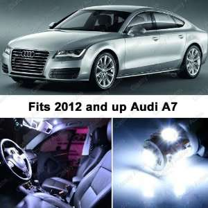 Audi A7 WHITE LED Lights Interior Package Kit 4G (5 Pieces