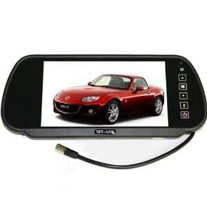 Car Rear View Mirror Monitor, Dual Video Inputs, V1/V2 Selecting, Car