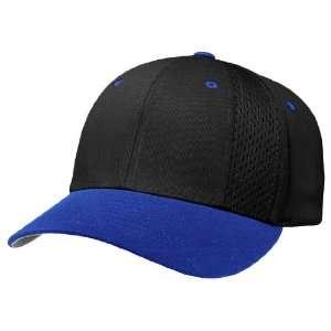 Richardson PTS14 Pulse Adjustable Baseball Cap (COMBO) BLACK CROWN
