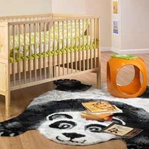 Panda Bear Play Mat Rug