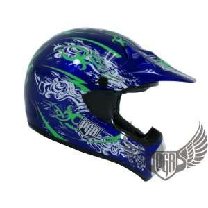 PGR Motorcross MX ATV Dirt Bike Off Road Helmet (XX Large