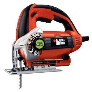 BLACK & DECKER 5.0 Amp Variable Speed Orbital Jigsaw JS660 1
