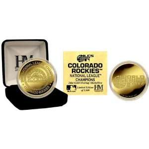 2007 National League Champions 24KT Gold Coin