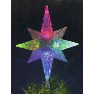 Lighted Color Changing Star Christmas Tree Topper   Multi Color Lights
