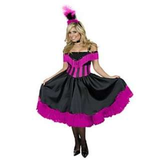 Classy Saloon Girl Adult Costume Clothing