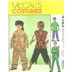 Childrens/Boys Costumes McCalls Costumes Sewing Pattern