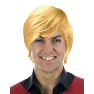 Mens Wig   Boy Band (Blond) [Toy] Toys & Games
