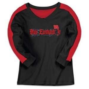 Dale Earnhardt Jr Ladies Long Sleeve Tee Shirt Sports