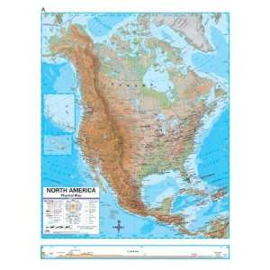 Map 762547022 North America Advanced Physical Deskpad Map Set Office