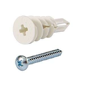 Drilling Drywall Anchors MINI with Screws Pack of 100 by CR Laurence