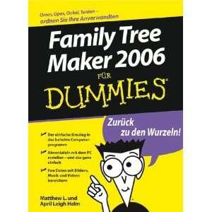 Family Tree Maker Fur Dummies (German Edition