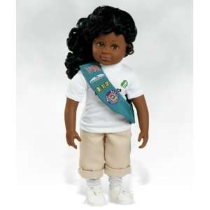 Doll, Isabella   Girl Scout, Made in Vinyl Paradise Galleries Dolls