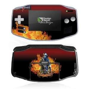 Design Skins for Nintendo Game Boy Advance   Firefighter